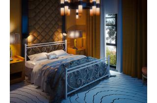 Кованая кровать Монстера Тенеро 190(200) х 160