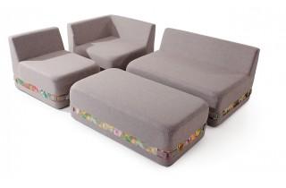 Бескаркасная мебель комплект Максимус ТМ Ладо