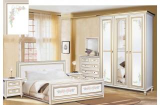 Принцесса Скай Спальня Комплект со шкафом 3Д