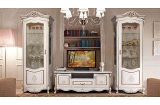 Аллегро (мебельный набор 1 для гостиной беж) Слониммебель