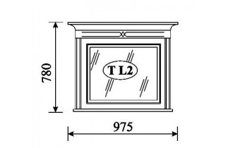 TARANTINO Зеркало T-L2