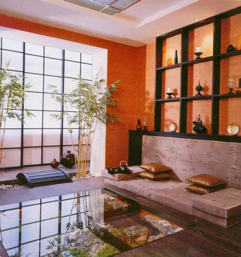 мебель в японском стиле этно
