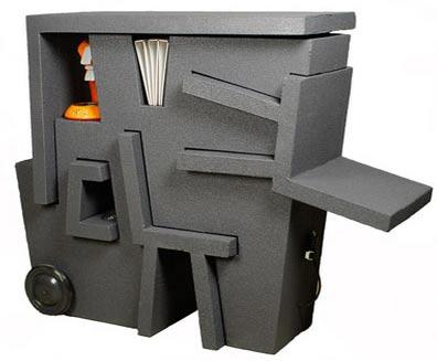 Офисная мебель из пенопласта