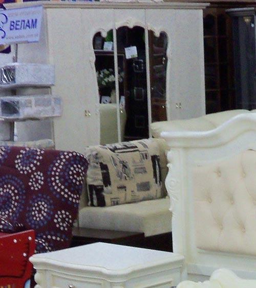 шкаф пятидверный мебельного гарнитура ВЕНЕЦИЯ