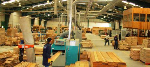 Цех мебельной фабрики