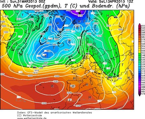Зима вернется в апреле - 2013 г начало ледникового периода?