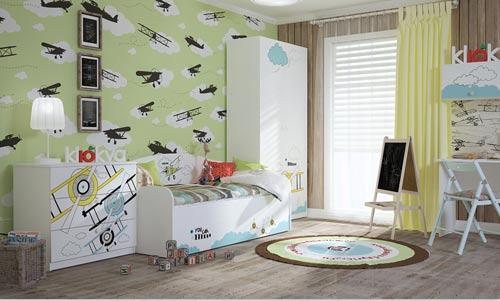 Вариант детской мебели коллекции BABY