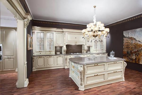 Элитные кухни фабрики Sagrande